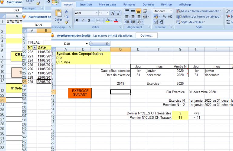 Modèles de tableau Excel pour débuter sa gestion de copropriété