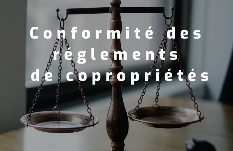 Mise à jour règlement de copropriété – Loi ELAN